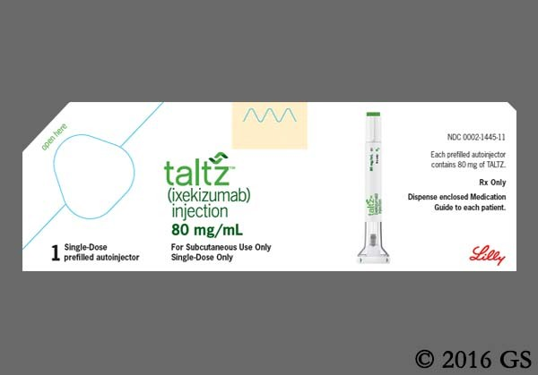 Photo of the drug Taltz Autoinjector.