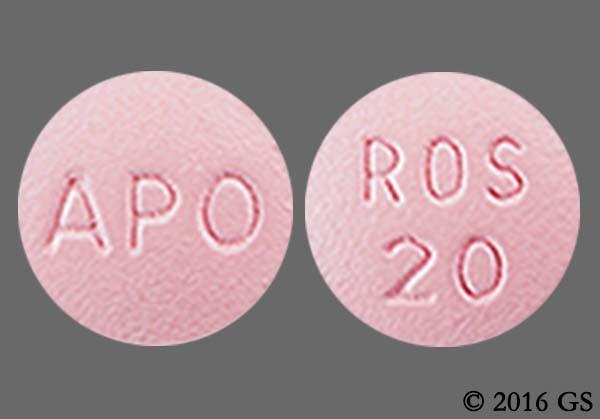 Photo of the drug Crestor (generic name(s): ROSUVASTATIN).