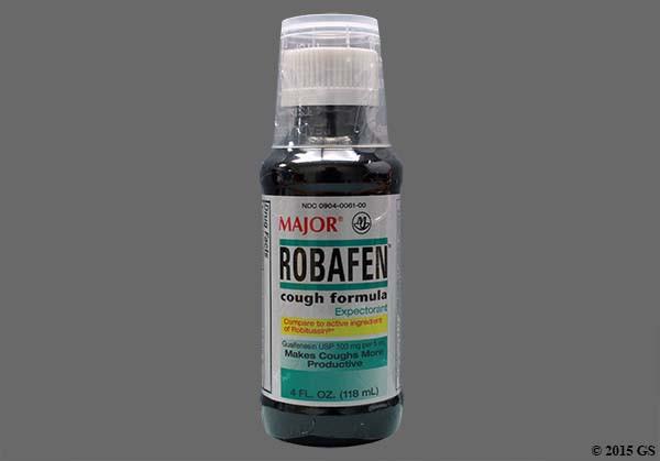 Photo of the drug Robafen (generic name(s): GUAIFENESIN).