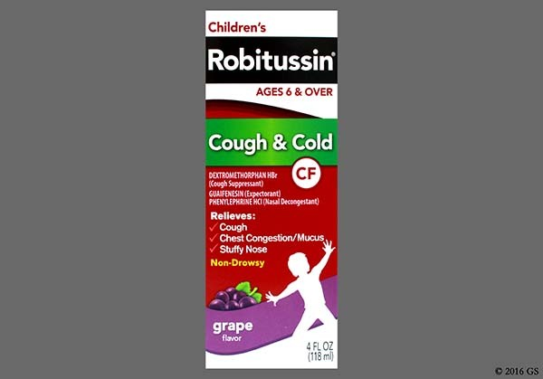 Photo of the drug Robitussin Cough & Cold Cf.