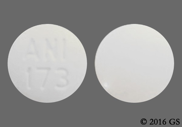 Photo of the drug Nilutamide.