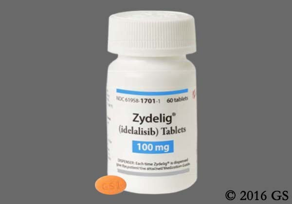 Photo of the drug Zydelig.