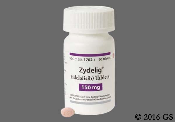 Photo of the drug Zydelig (generic name(s): ).
