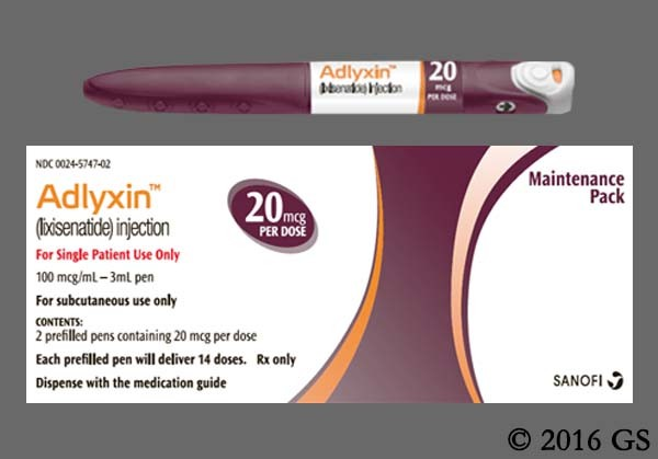 Photo of the drug Adlyxin (generic name(s): ).