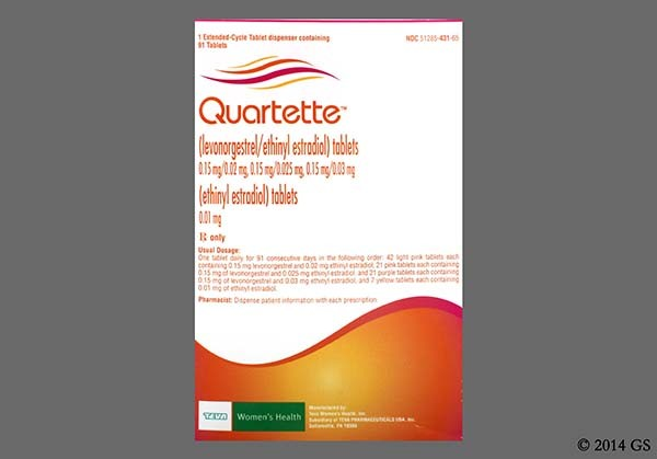 Photo of the drug Quartette.