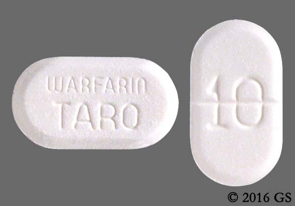 Photo of the drug Warfarin Sodium.