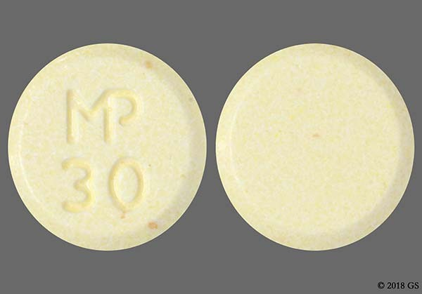 Photo of the drug chlorthalidone (generic name(s): CHLORTHALIDONE).