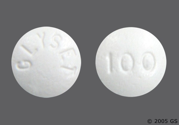 Photo of the drug Glyset.