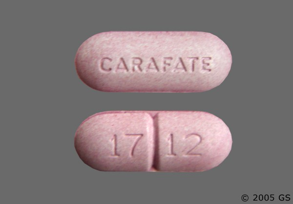 Photo of the drug Carafate.