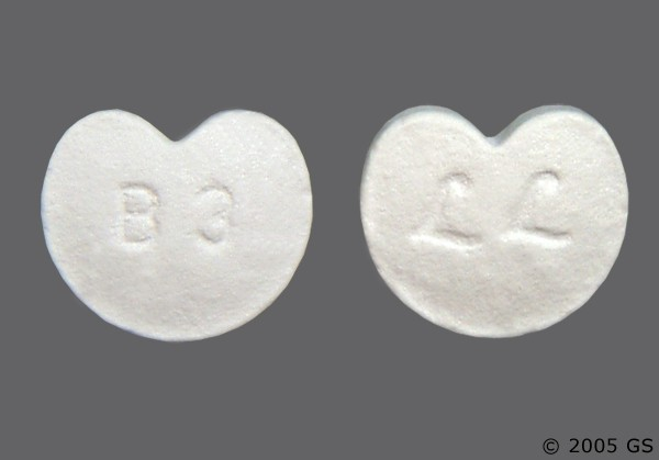 Photo of the drug Zebeta.