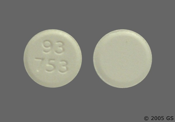 Photo of the drug Atenolol.