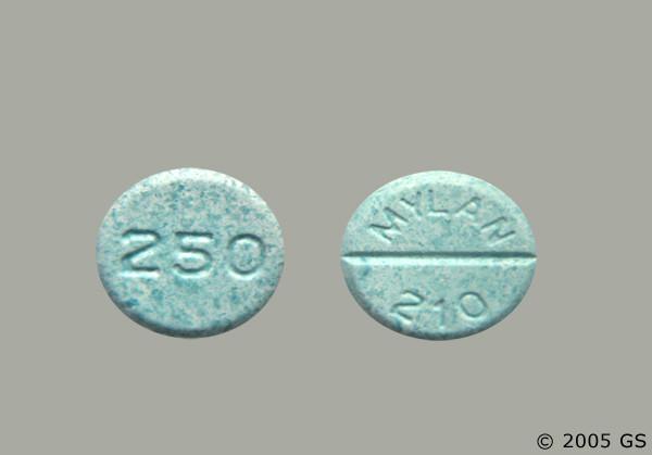 Photo of the drug chlorpropamide (generic name(s): CHLORPROPAMIDE).
