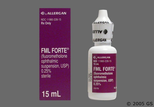 Photo of the drug Fml Forte.