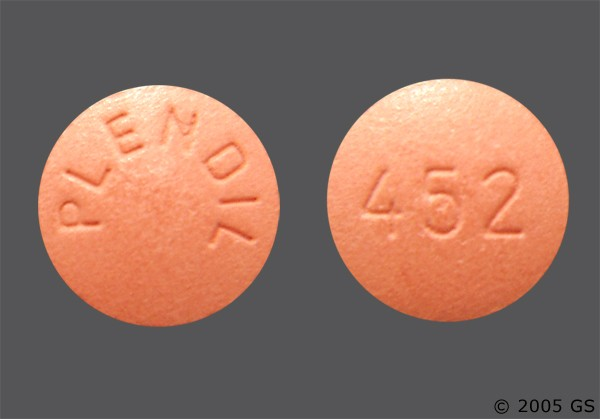 Photo of the drug Plendil.