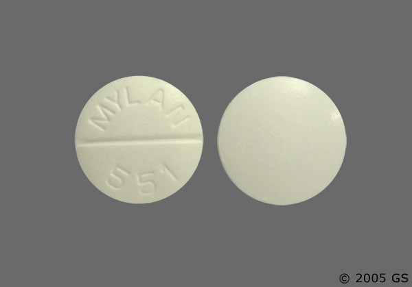 Photo of the drug Tolazamide.