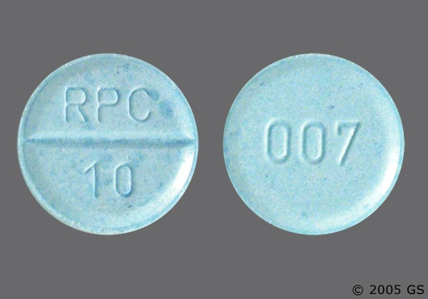Photo of the drug Proamatine.