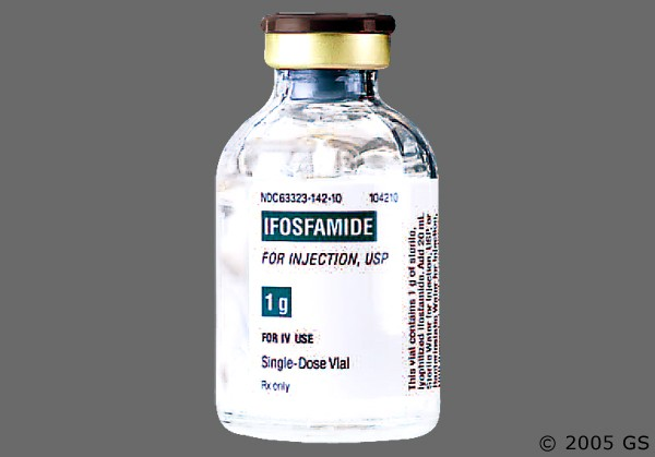 Photo of the drug Ifex (generic name(s): IFOSFAMIDE).