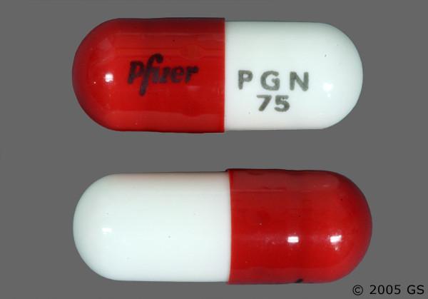 Photo of the drug Lyrica (generic name(s): ).