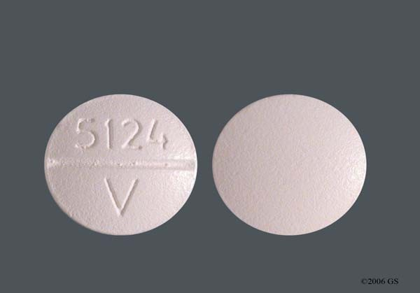 Photo of the drug Propafenone.
