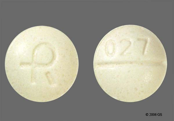 Photo of the drug Xanax (generic name(s): Alprazolam).