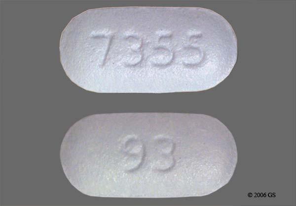 Photo of the drug Proscar (generic name(s): FINASTERIDE).