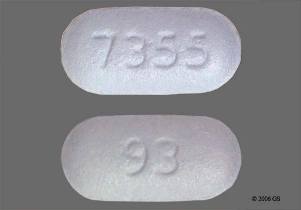 Photo of the drug Proscar.