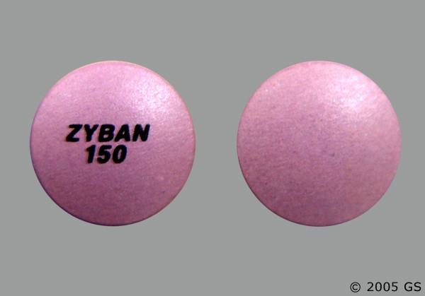 Photo of the drug Zyban.