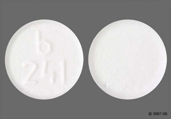 Photo of the drug Mirtazapine.